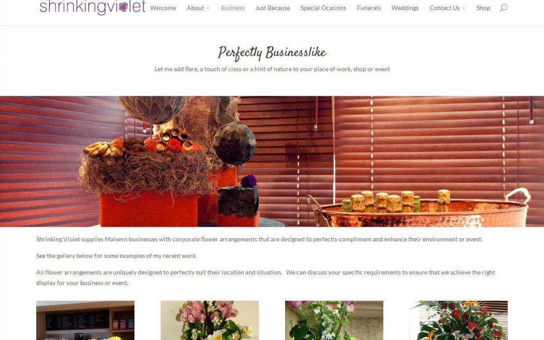 Shrinking Violet Bespoke Floristry